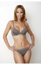 Calvin Klein Seductive Comfort Caress Slip Bikini french roast - F3458E-5FR