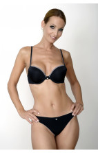 Calvin Klein Naked Glamour Thong black - F3356E-001