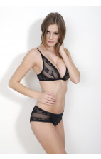 Calvin Klein Lace & Micro Slip Hipster with Lace black - F3373E-001