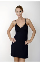 Calvin Klein Nightwear- Nightdress V-Neck black - S2453E-001