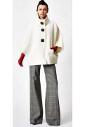 Simone Marulli - elegante Designer Hose in Hahnenfuss Muster - PN004