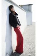 Simone Marulli - elegante Designer Hose in rot - PN001